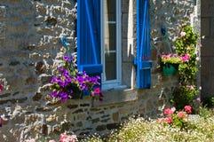 Breton house Stock Image