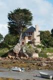 Breton house stock photo