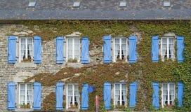 Breton house facade Stock Image
