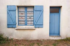 Breton hydda Arkivfoto