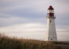Breton Nova Scotia de cap de phare Images libres de droits