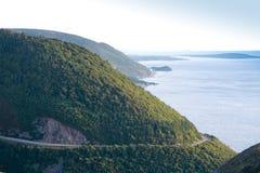 Breton scenisk väg för udd Royaltyfri Foto
