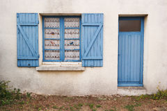 Breton shack Stock Photo