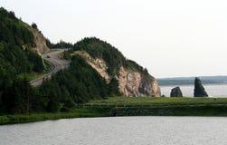 breton uddbilhuvudväg Arkivfoto