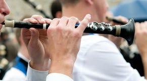 Bretonische Flöte Lizenzfreies Stockbild