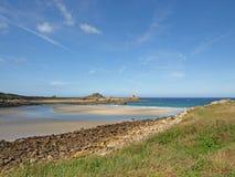 Bretonischer Strand Stockfoto