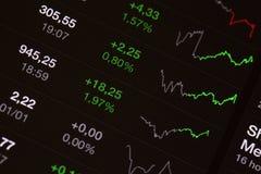 Brett auf Lager - Marktwachstum Lizenzfreies Stockfoto