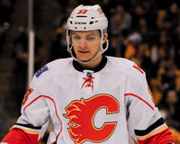 Brett Carson, Calgary Flames Stock Image