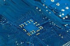 Brett der elektronischen Schaltung Stockfoto