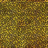 Brett der elektronischen Schaltung. Nahtloses Muster. Stock Abbildung
