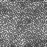 Brett der elektronischen Schaltung. Nahtloses Muster. Lizenzfreie Abbildung