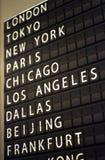 Brett des Flughafenleichten schlages Lizenzfreies Stockfoto
