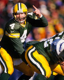 Brett Favre Green Bay Packers Lizenzfreies Stockfoto