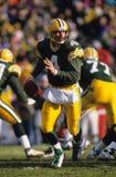 Brett Favre Green Bay Packers. Former Green Bay Packers QB Brett Favre. (Scanned from slide Royalty Free Stock Photos