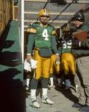 Brett Favre Green Bay Packers Royalty Free Stock Photography