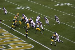 Brett Favre Returns Lambeau Field Packers Vikings Stock Photography