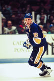 Brett Hull St Superstar de Louis Blues Photographie stock libre de droits