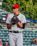 Brett Martin, Hickory Crawdads Royalty Free Stock Images