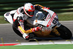 Brett McCormick - Ducati 1098R - Effenbert Liberty royalty free stock photos