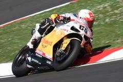 Brett McCormick - Ducati 1098R - Vrijheid Effenbert Royalty-vrije Stock Afbeelding