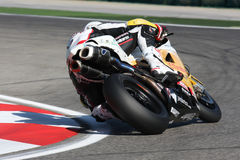 Brett McCormick - Ducati 1098R - Vrijheid Effenbert Royalty-vrije Stock Foto's