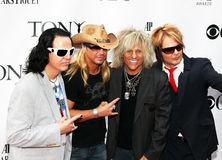 Brett Michaels and cast from  Royalty Free Stock Images