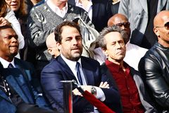 Brett Ratner star ceremony Royalty Free Stock Photo