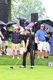 Brett Rumfort on tour Stock Images