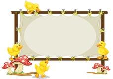 Brett und Ente Stockbilder