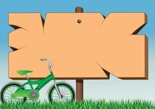 Brett und Fahrrad Stockbilder
