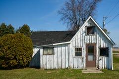 Brett-und Streifen-Haus Stockbild