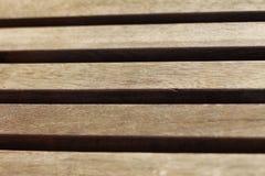 Bretter in der Holzbank Lizenzfreie Stockfotos