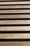 Bretter in der Holzbank Lizenzfreies Stockbild