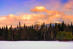 Bretton Woods, de New-Hampshire foto de stock