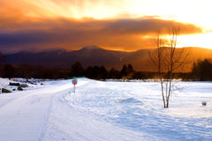 Bretton Woods, de New Hampshire Foto de archivo