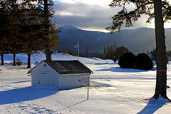 Bretton Woods, del New Hampshire Fotografia Stock