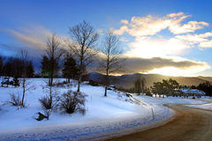 Bretton Woods, New Hampshire Stock Image