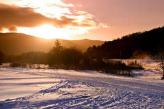 Bretton Woods, Van Newhampshire Royalty-vrije Stock Afbeelding