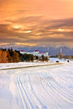 Bretton Woods, Van Newhampshire Royalty-vrije Stock Foto
