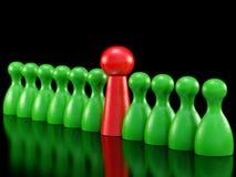 Brettspiel bessert Symbol für Führung aus Lizenzfreie Stockfotos