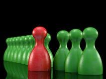 Brettspiel bessert Symbol für Führung aus Stockbild