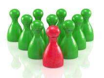 Brettspiel bessert Symbol für Führung aus Stockbilder