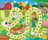 Brettspiel-Themabild 6 Stockbilder