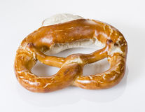 Bretzel. German bretzel, salt and crispy crust Royalty Free Stock Photos