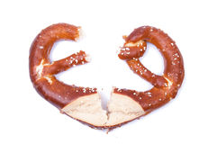 Bretzel salé Photo stock