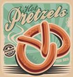 Bretzels chauds Image libre de droits
