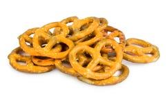 Bretzels med salt Royaltyfri Bild