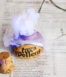 Breuvage magique de produit répulsif d'impôts Image stock