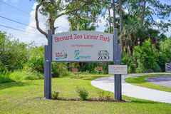 Brevard zoo entrance Stock Photos