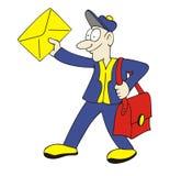 brevbärare Fotografering för Bildbyråer